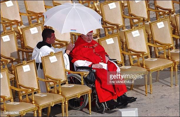 Funeral of Pope John Paul II at Saint Peter's Basilica in Rome Italy on April 8 2005