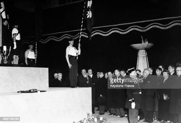 Funeral of Roger Salengro Home Secretary Of Leon Blum in 1936
