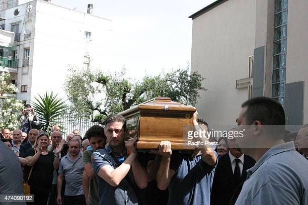 Funeral of the Secondigliano massacre victims at the church of Maria Santissima del Carmine attanded by their family members friends and other...