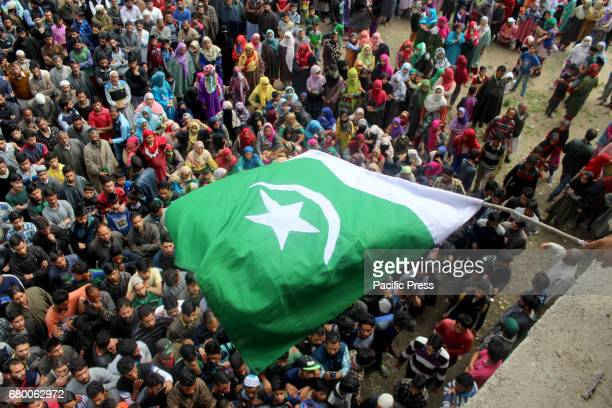Funeral of the slain Rebel Fayaz Ahmed Ashwar alais Setha from Reshipora Qaimohin Kulgam district of south Kashmir Fayaz was reportedly killed last...