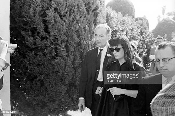 Funeral Of Tyrone Power In Los Angeles Los Angeles en novembre 1958 l'acteur Tyron POWER décédé à 45 ans d'une crise cardiaque sur un tournage en...
