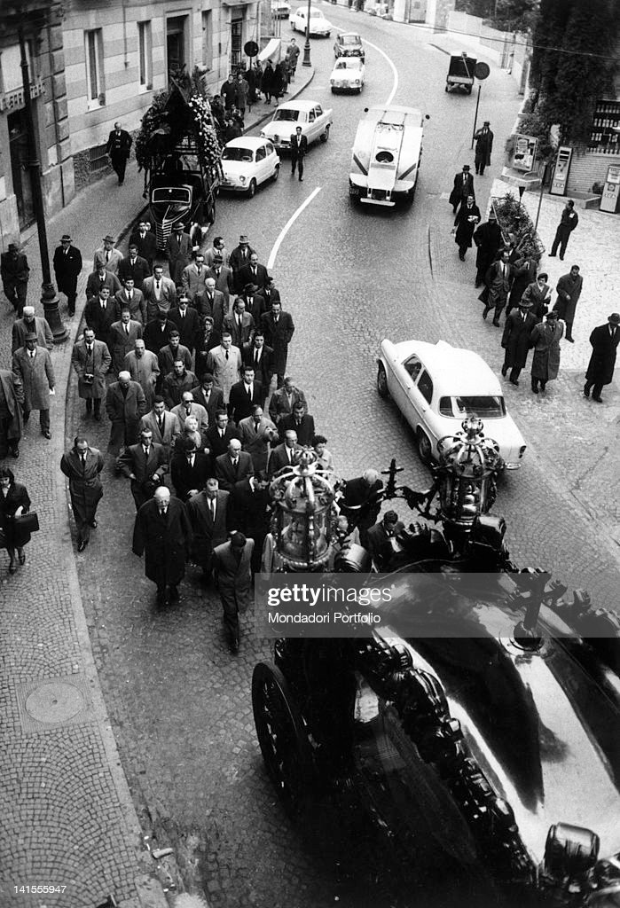 Procession During Lucky Luciano'S Funeral