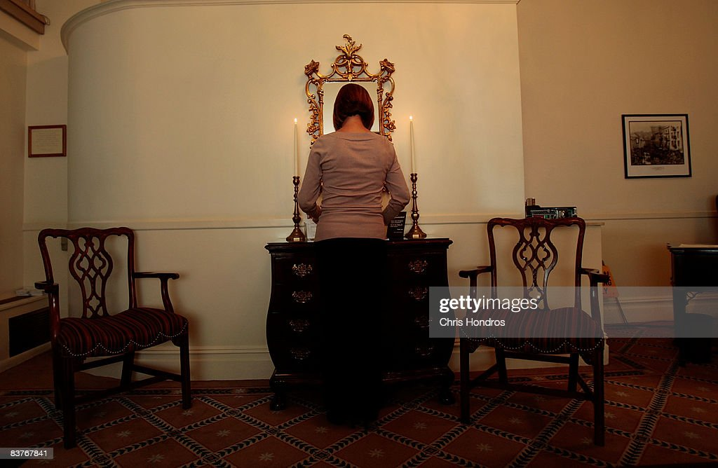 Funeral resident in training Jennifer Greenberg lights candles in the foyer of her workplace at the Greenwich Village Funeral Home on November 20, 2008 in New York City. Despite the currently languishing economy, the funeral home world is preparing for an upswing nationally, as the recession-resistant business prepares for an expected rise in death rates as baby boomers start to reach old age in the coming decade.