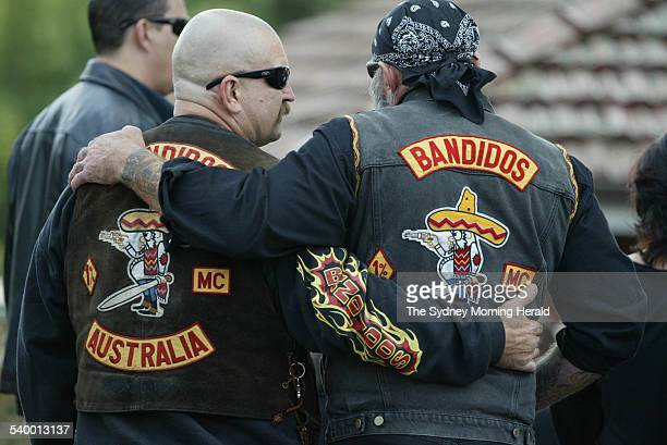 Funeral service for Bandidos leader Rodney Monk at St Gerards Catholic Church Carlingford Picture taken 27 April 2006 SMH NEWS Picture by PETER RAE