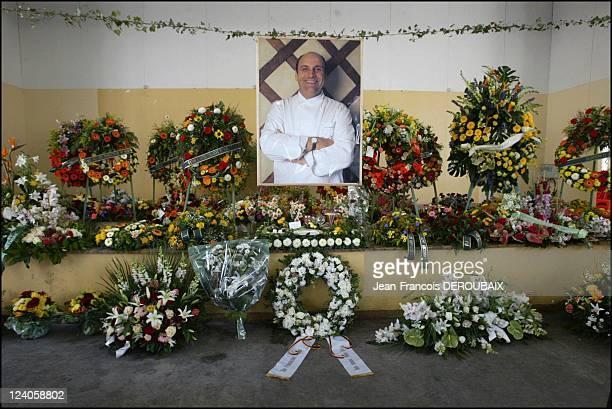Funerals of Bernard Loiseau In Saulieu France On February 28 2003