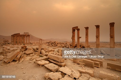 Funerary Temple at Palmyra, Syria