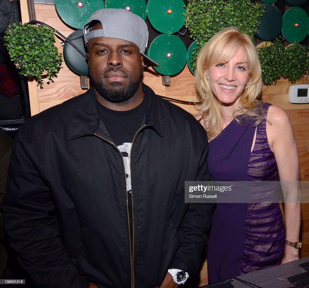 Funkmaster Flex and Jessica Rosenblum attend Jessica Rosenblum's Birthday Party at Greenhouse on February 1 2012 in New York City