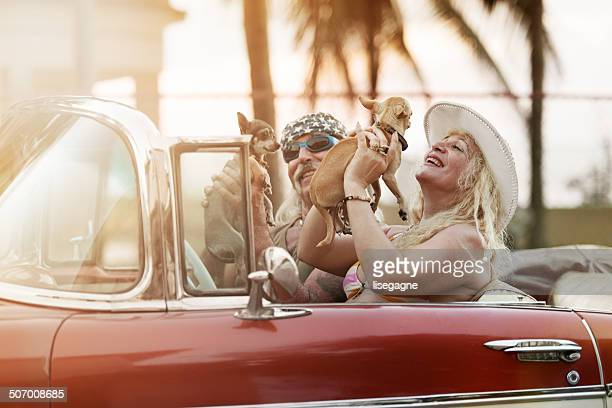 Funky Mature Couple in Cuba