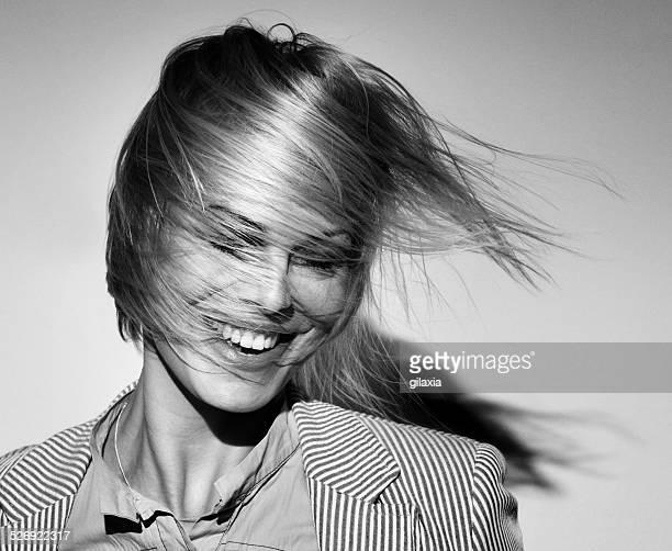 Tendance, Cheveux dans le vent, de la mode.