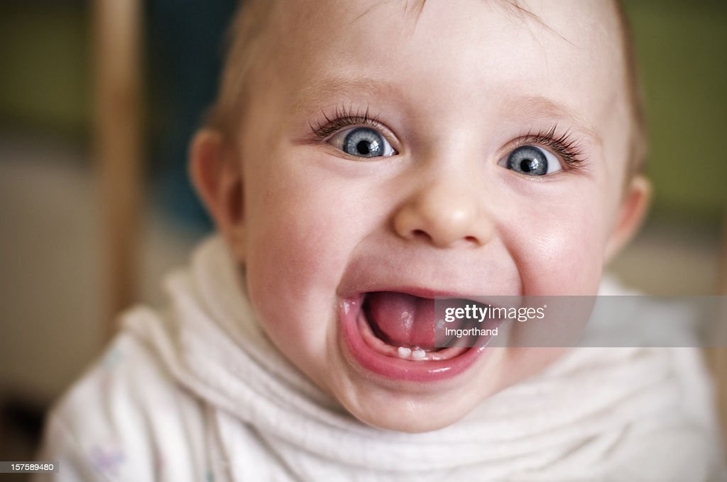 Funny baby : Stock Photo