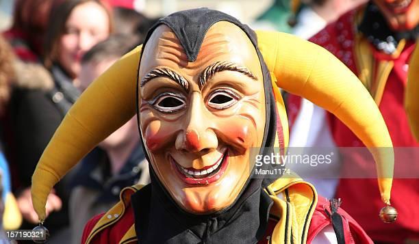 funny carnival mask