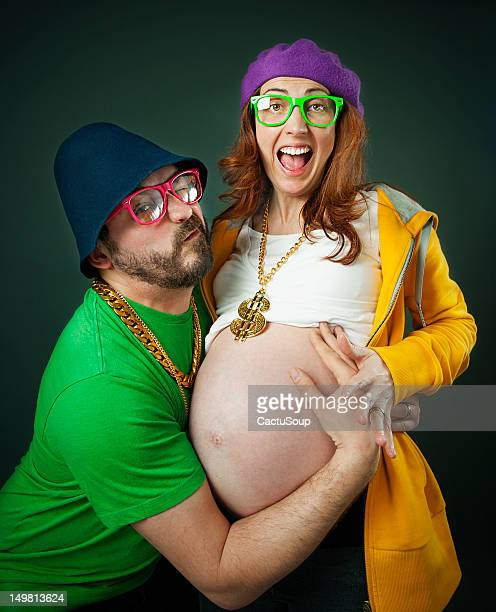 Funny couple pregnancy