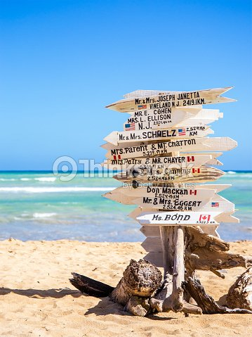 funny direction signpost stock photo thinkstock