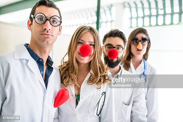 Funny doctors at the hospital