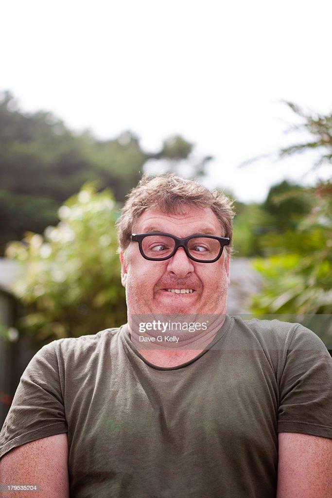 Funny Faced Man