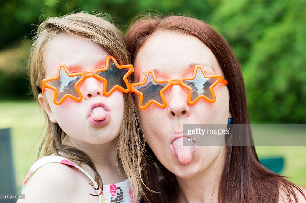 Funny faces : Stock Photo