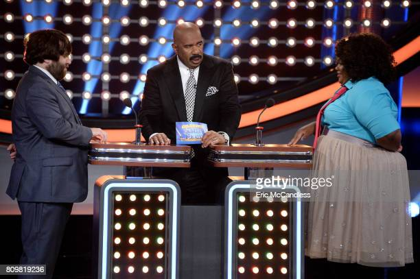 FEUD 'Funny Gals vs Funny Guys and Louie Anderson vs Christina Milian' The celebrity teams competing to win cash for their charities feature...