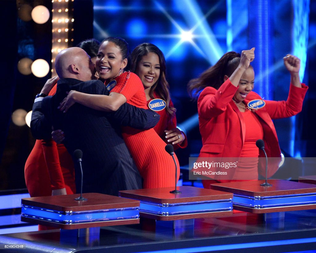 FEUD - 'Funny Gals vs Funny Guys and Louie Anderson vs Christina Milian' - The celebrity teams competing to win cash for their charities feature comedians/actors from popular shows like 'Grace & Frankie,' 'Fresh Off the Boat' and 'Saturday Night Live.' In a separate game, family members from the multi-talented actress/singer/businesswoman Christina Milian will take on iconic comedian Louie Anderson and his family. This episode of 'Celebrity Family Feud' airs SUNDAY, JULY 23 (8:00-9:00 p.m. EDT), on The ABC Television Network. LUCIANO