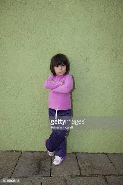 Funny girl in Burano