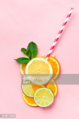 Funny juice concept : Foto de stock