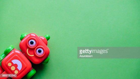 Funny little robot : Stock Photo