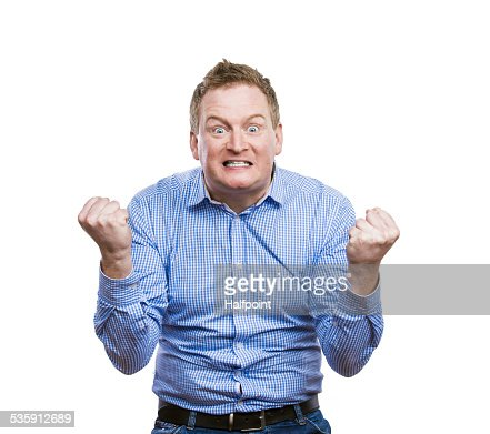 Funny man : Stock Photo