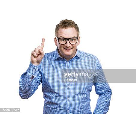 Funny man : Stock Photo