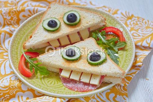 Dr le sandwich pour le d jeuner pour les enfants photo thinkstock - Repas anniversaire enfant ...