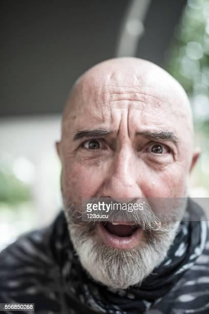 Funny Senior Man