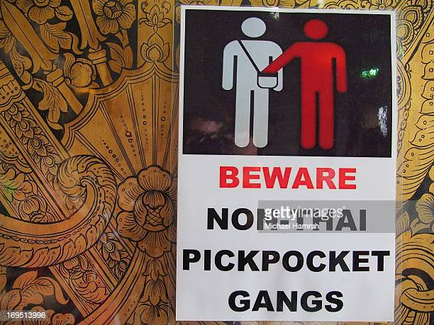 CONTENT] A funny sign warning strangers about pickpocketing There are numerous signs where the meaning is lost in translation