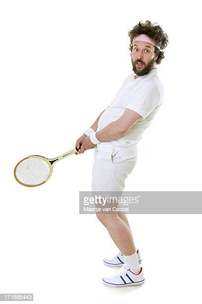 Funny Tennis Player - Silly