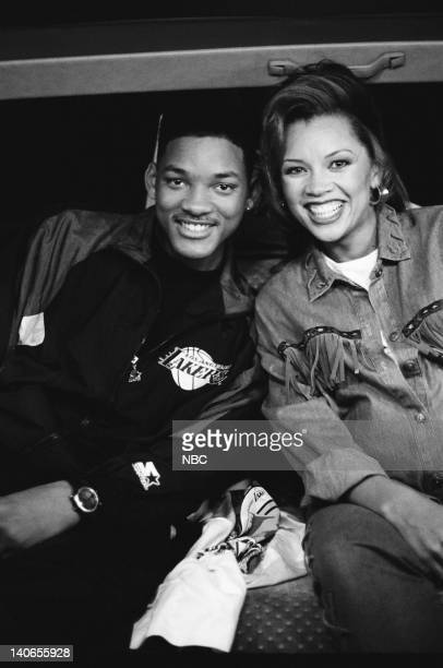 AIR 'A Funny Thing Happened on the way Home from the Forum' Episode 11 Pictured Will Smith as William 'Will' Smith Vanessa Williams as Danny Mitchell...