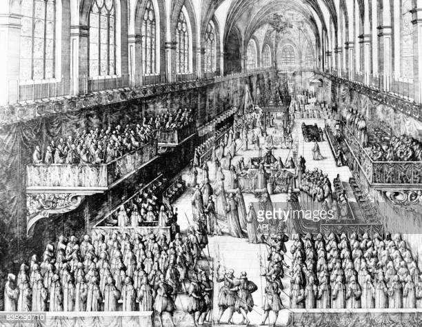 Funérailles du duc Charles III de Lorraine le 19 juiller 1608
