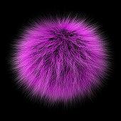 Fur ball pink