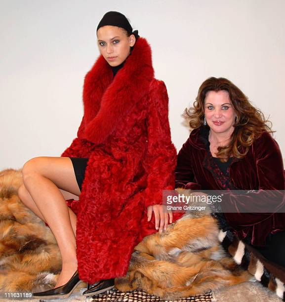 Fur Model and Fur Designer Adrienne Landau during Fur Information Council of America Fur Fashion Week Adrienne Landau Fall / Winter 2006 Collection...