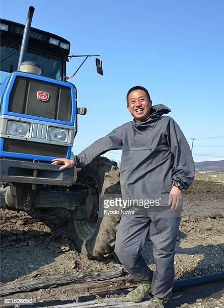 Furano Japan Yoshinori Yamakawa a former member of Japan's Antarctic expedition team plows a field on May 8 2013 in Furano Hokkaido Yamakawa became a...