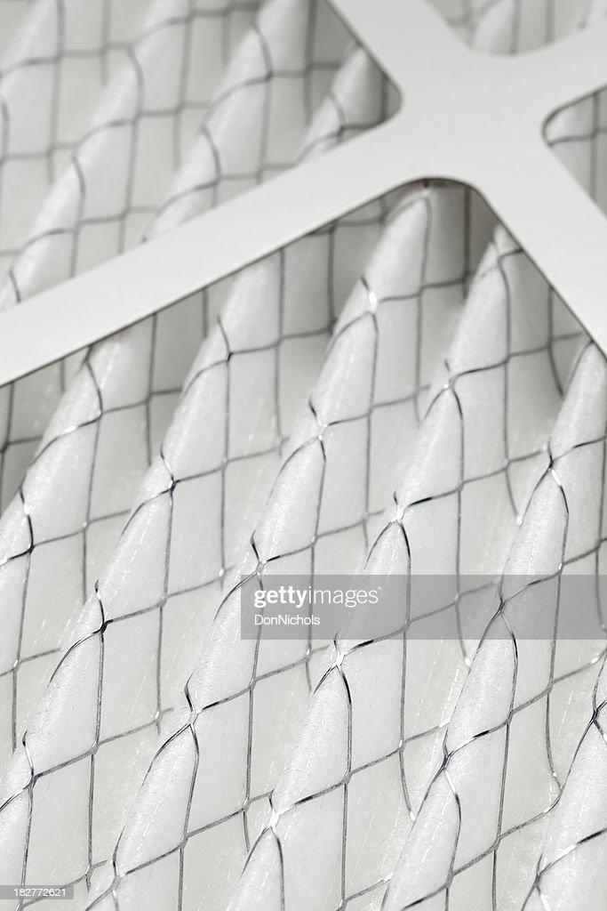 Furnace Filter Close-up : Stock Photo