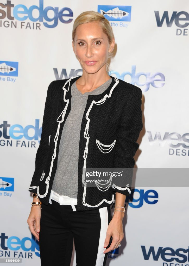Furniture Designer Alexandra Von Furstenberg attends the WestEdge Design Fair opening night benefiting Heal the Bay at Barker Hangar on October 3, 2013 in Santa Monica, California.