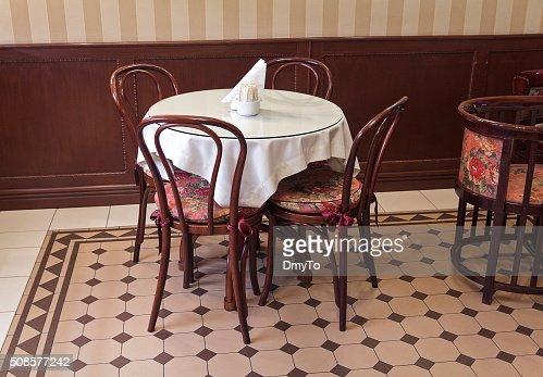 Möbel für ein Café im retro-Stil. Innenbereich : Stock-Foto