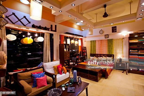 Furniture for sale in a store FabIndia Candolim North Goa Goa India