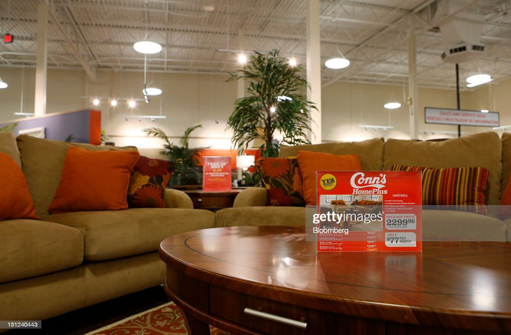 Furniture For Sale Is Displayed On The Floor Of A Conns Inc Store In Houston