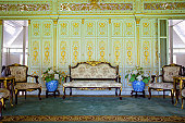 furniture in palace, Thailand