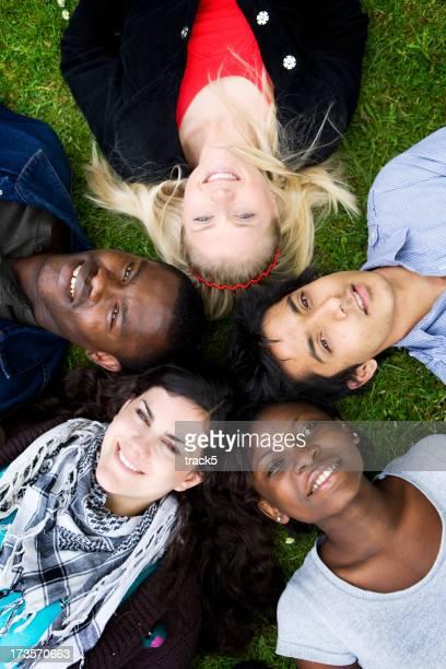 teenage Studenten: Freundschaft