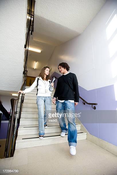 teenage Studenten: home Zeit