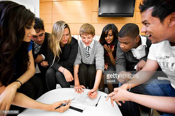 La formation continue: Projets pour un groupe d'étudiants divers