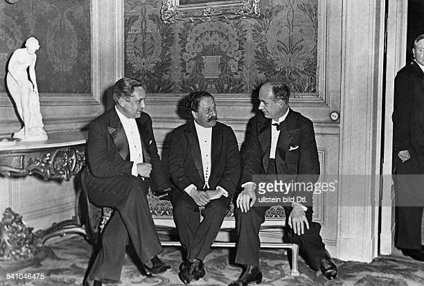 Furtwaengler Wilhelm *25011886Dirigent Komponist D Intendant Ebert Dirigent Pierre Monteux und WF 1931