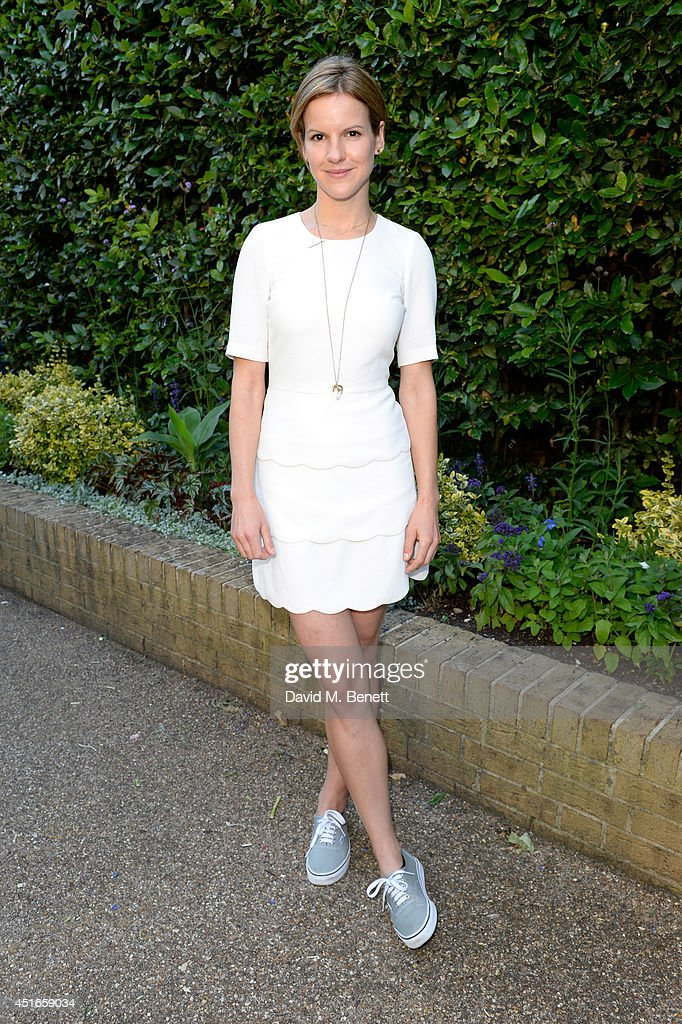 Fuschia Sumner attends the Club Monaco Garden Party hosted by Quentin Jones, Clara Paget and Annie Morris in Eaton Square on July 3, 2014 in London, England.
