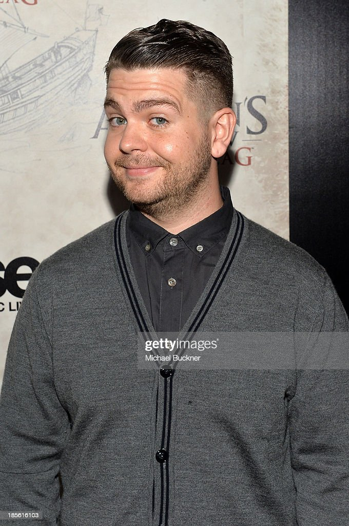 Fuse News correspondent Jack Osbourne attends the Assasin's Creed IV Black Flag Launch Party at Greystone Manor Supperclub on October 22, 2013 in West Hollywood, California.