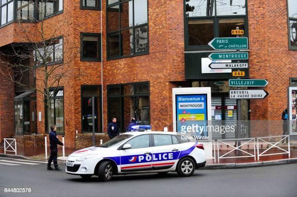 Fusillade Montrouge Rue de la fusillade / Interpellation Hotel Atlantide Photo Dave Winter / Icon Sport At around 0750 following a car accident...