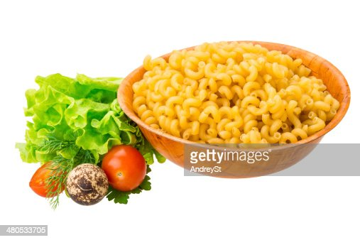 Fusilli pasta : Stock Photo